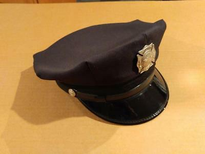 7372-----vintage Hook & Ladder Co firemen's dress cap