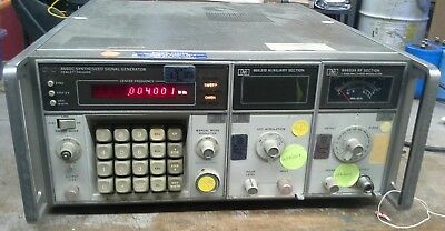 Hewlett Packard HP 8660C Synthesized Signal Generator w/ 86631B and 86603A