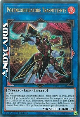 POTENCODIFICATORE TRASMITTENTE • Ultra Rara • SDPL IT040 • YUGIOH ANDYCARDS