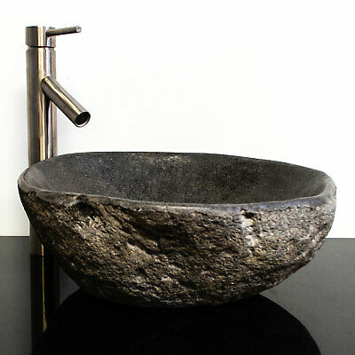 Riverstone Granite Boulder Vessel Sink RSJB-08