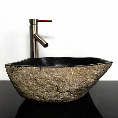 Riverstone Granite Boulder Vessel Sink RSJB-13