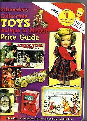 book,Schroeder's Collectible Toys,Antique to Modern Price Guide