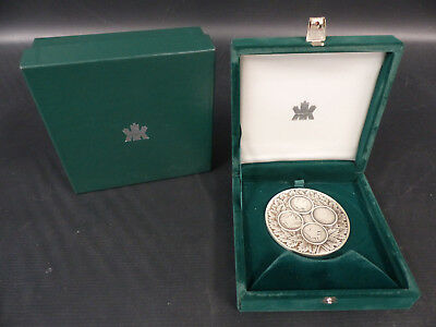 1987 Royal Canadian Mint Sterling Silver Medal & Box