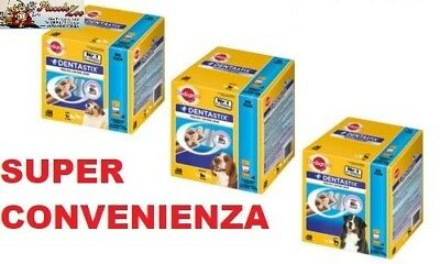 Pedigree Dentastix 56 pezzi cani di taglia piccola(small), media e grande(large)