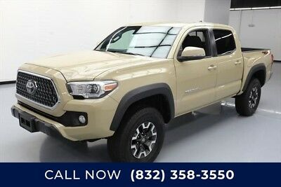 Toyota Tacoma 4x4 TRD Off-Road 4dr Double Cab 5.0 ft SB 6A Texas Direct Auto 2018 4x4 TRD Off-Road 4dr Double Cab 5.0 ft SB 6A Used 4WD