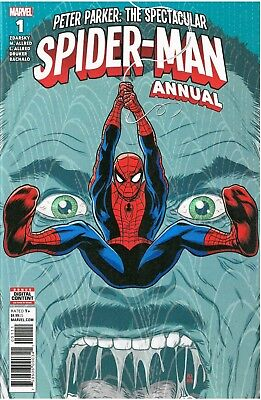 Peter Parker: The Spectacular Spider-man Annual #1 August 2018 Mike/Laura Allred