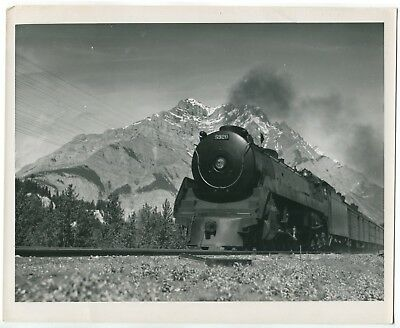 Canadian Pacific Railroad Canada Rockies Train Vintage Official PRO Photograph