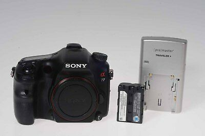 Sony Alpha A77 24.3MP Digital SLR Camera Body SLT-A77V                      #993