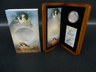 2006 Canada 5 Dollars Fine Silver Coin Set - Falcon And Nestlings