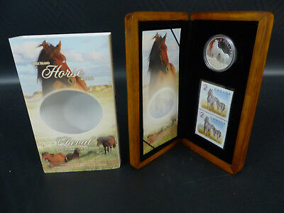 2006 Canada 5 Dollars Fine Silver Coin Set - Horse And Foal