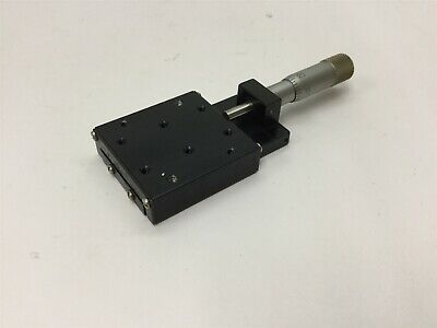 "Tusk RP1 Linear Mic Actuated Positioning Stage Crossed Roller Slide 1/2"" Travel"