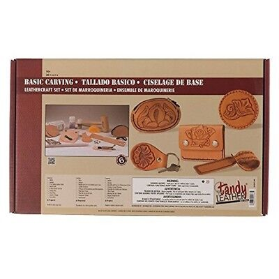 Tandy Leather Basic Carving Leathercraft Set 55401-00 - 5540100