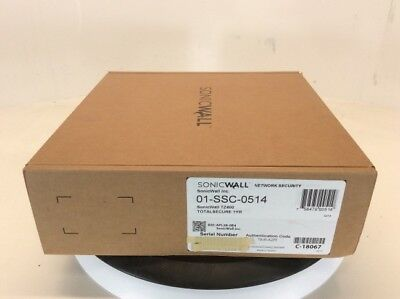 Dell SonicWall 01-SSC-0514 TZ400 Gen 6 Firewall TotalSecure 1Yr Support
