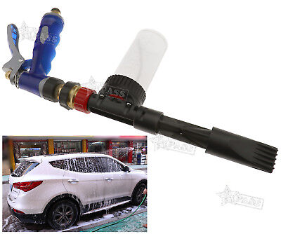 New Multifunctional Snow Foam Car Wash Spray Gun Lance Uses Hose Pipe 100ML