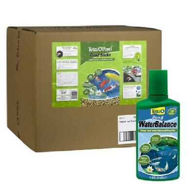 Tetra Pond 16457 Floating Food Sticks 11lbs 40 ltr+FREE Tetra Water Conditioner