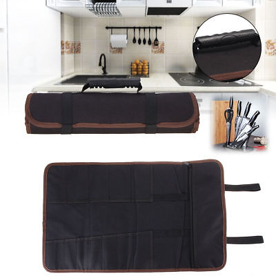 Chef Knife Bag Repair Roll Bag Portable Kitchen Utensil Storage Carry Case