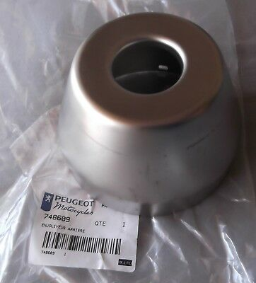 Genuine Peugeot Jetforce 50 Exhaust Silencer End Cap Trim PE748609