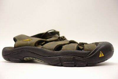 62c28900562 KEEN Mens Newport H2 Olive Hiking Trail Walking Sandals Water Shoes Size  11.5