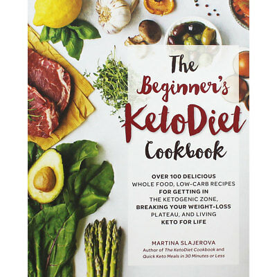 The Beginners Keto Diet Cookbook (Paperback), Non Fiction Books, Brand New