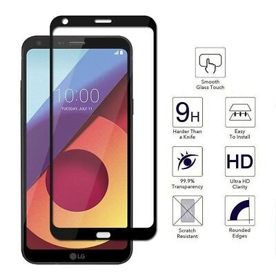 LG G6 Screen Protector Tempered Glass FULL 3D Edge to Edge Coverage