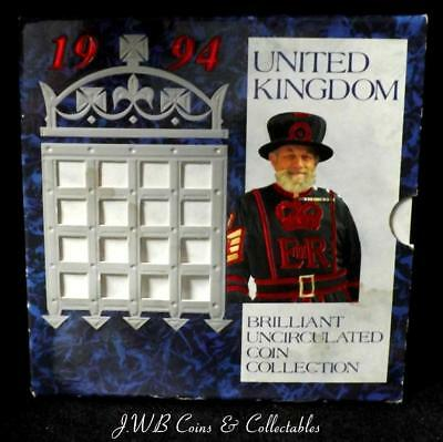 1994 The United Kingdom Brilliant Uncirculated Coin Collection.
