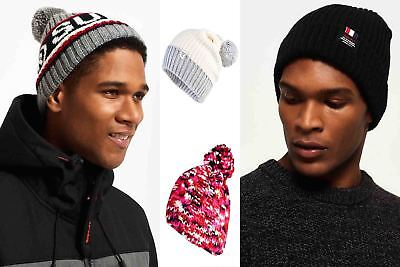 New Superdry Hats Selection - Various Styles & Colours 0908