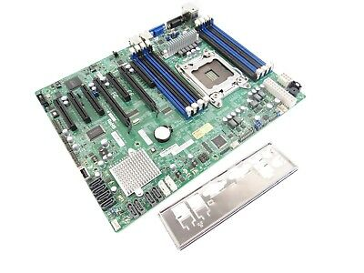 Supermicro X9SRL-F Motherboard Socket LGA2011 System Board w/ I/O Shield