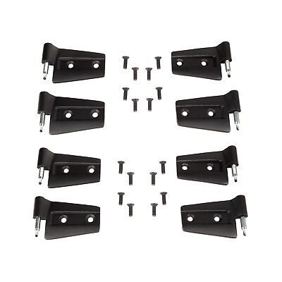 Door Hinge Kit for Jeep Wrangler JKU 2007-2018 4 Door Rugged Ridge 11202.32