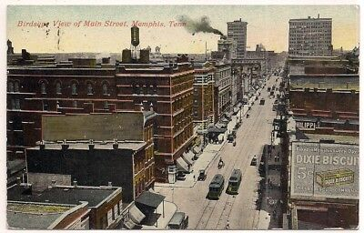 1914 Memphis Tennessee Tn. Shelby County Postcard