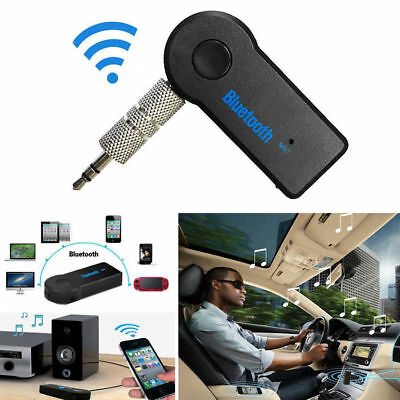 Car Bluetooth 3.0 Music Receiver Wireless 3.5mm Audio AUX Adapter USB Cable