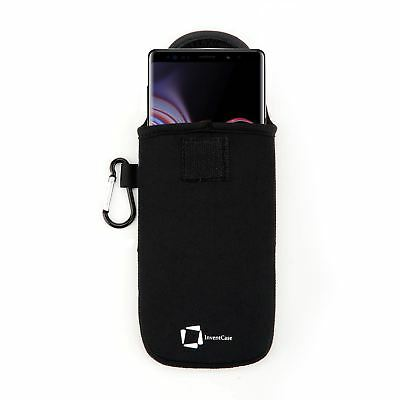 Genuine Invencase Black Neoprene Pouch Case For Samsung Galaxy Note 9 2018