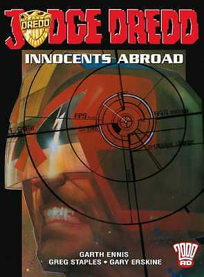 """2000AD ft JUDGE DREDD in """" INNOCENTS ABROAD """" - GRAPHIC NOVEL - EXCELLENT CON"""
