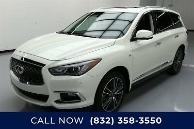 Infiniti QX60  Texas Direct Auto 2017 Used 3.5L V6 24V Automatic FWD SUV Premium Moonroof