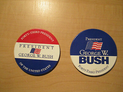 George W. Bush (43Rd President) Political Magnets