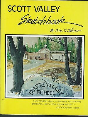 Scott valley sketchbook by john jenott 1995 softcover author signed california