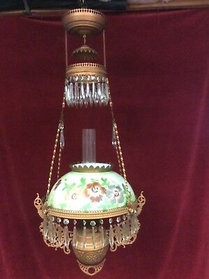 Victorian Kerosene Hanging Light