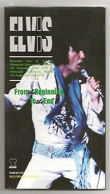 """Elvis Presley 2 Cd """"From The Beginning To The End"""" 2018 Sr September 1970 Cover4"""