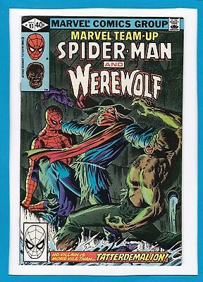 Marvel Team-Up #93_May 1980_Nm Minus_Spider-Man_Werewolf-By-Night_Bronze Age!