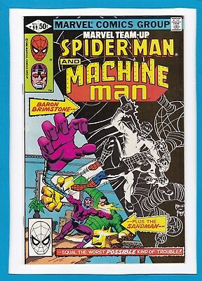 Marvel Team-Up #99_November 1980_Nm Minus_Spider-Man_Machine Man_Bronze Age!