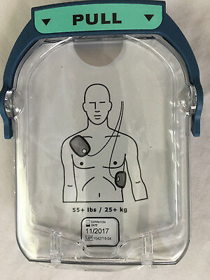 Philips HeartStart M5071A ADULT Defibrillator Pads for OnSite HS1 AED Exp 11/17