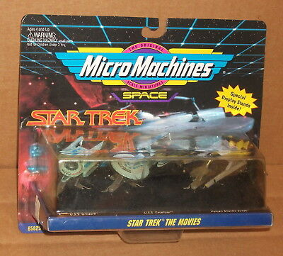 1993 Micro Machines Star Trek The Movies Collector Set #4 MOC