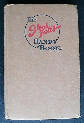 The Glens Falls Handy Book Instructions for Fire Insurance Agents 1927 HC