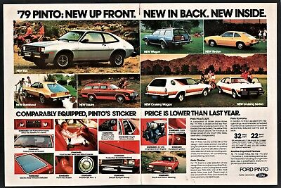 1979 FORD PINTO Full-line AD ESS, Wagon, Sedan, Runabout, Squire, Cruising Wgn