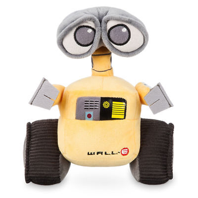 Disney Store Authentic Pixar WALL-E  Robot Embroidered Plush Toy Doll New