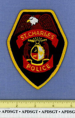 ST CHARLES MISSOURI Sheriff Police Patch EAGLE BEAR STATE SEAL