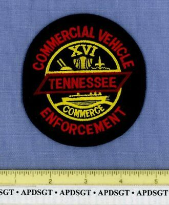 TENNESSEE COMMERCIAL VEHICLE ENFORCEMENT #1 DOT CVE Sheriff State Police Patch