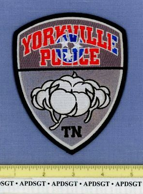 YORKVILLE TENNESSEE Sheriff Police Patch COTTON