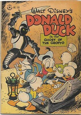 Walt Disney's Donald Duck Ghost Of The Grotto Dell Four Coloe 1947 Fine