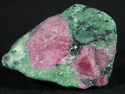 A Big 100% Natural Red RUBY Crystal TWIN With A Zoisite Matrix! Tanzania 113gr