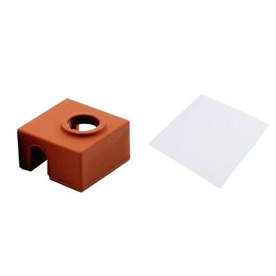 3D Printer Heating Bed Block 3mm Insulation Cotton with MK7/8/9 Sock Cover